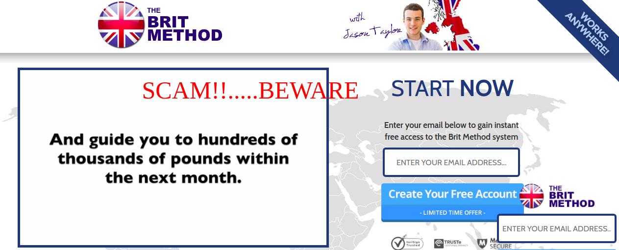 britmethod scam