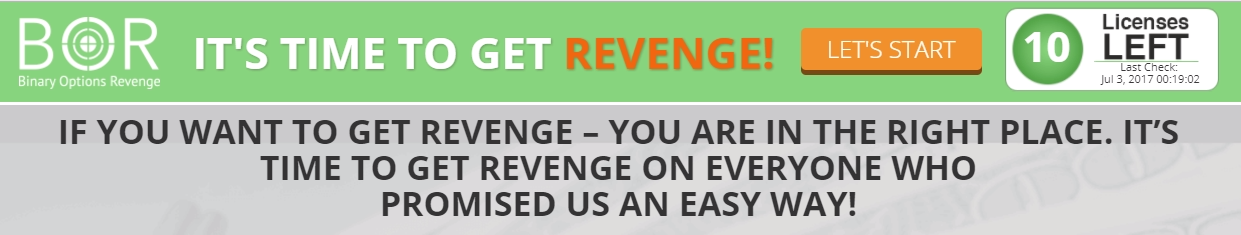 mission revenge binary options