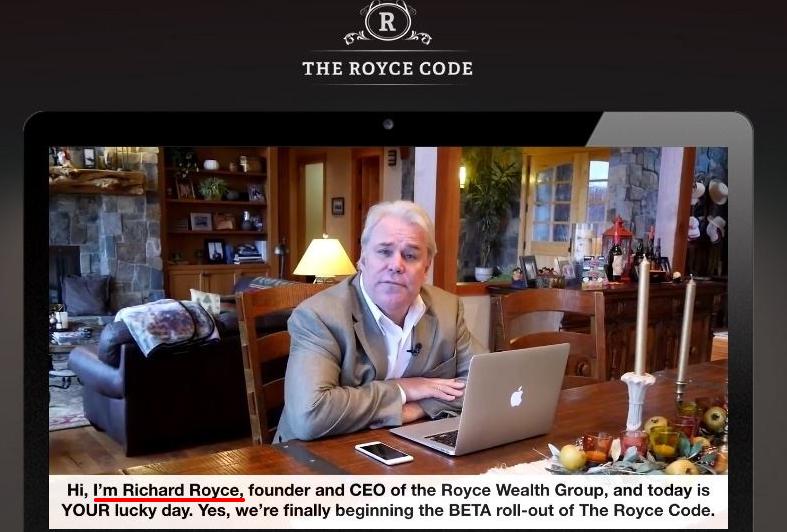 royce code scam