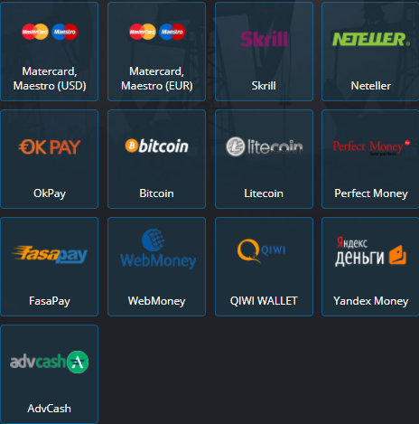 Easier trading platform to deposit and withdraw money