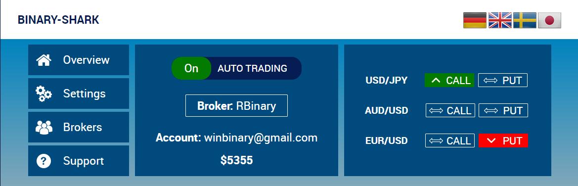 Binary options platform download