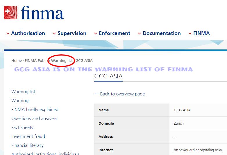 FINMA GCG ASIA