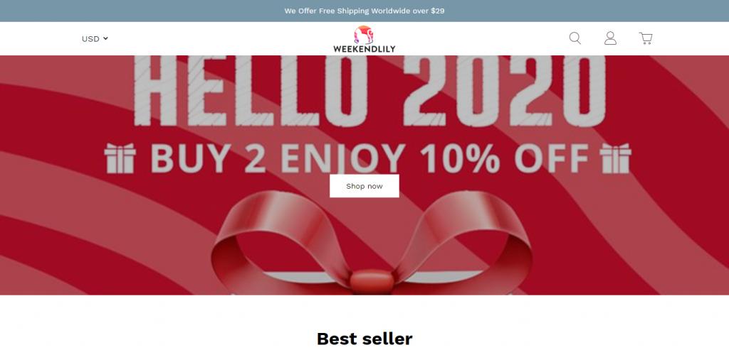 Weekendlily Online Store image