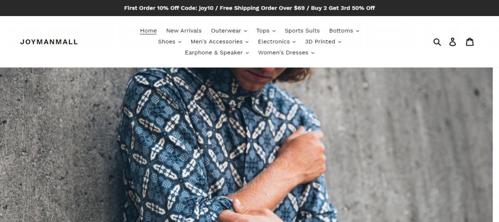 Joymanmall Online Store image