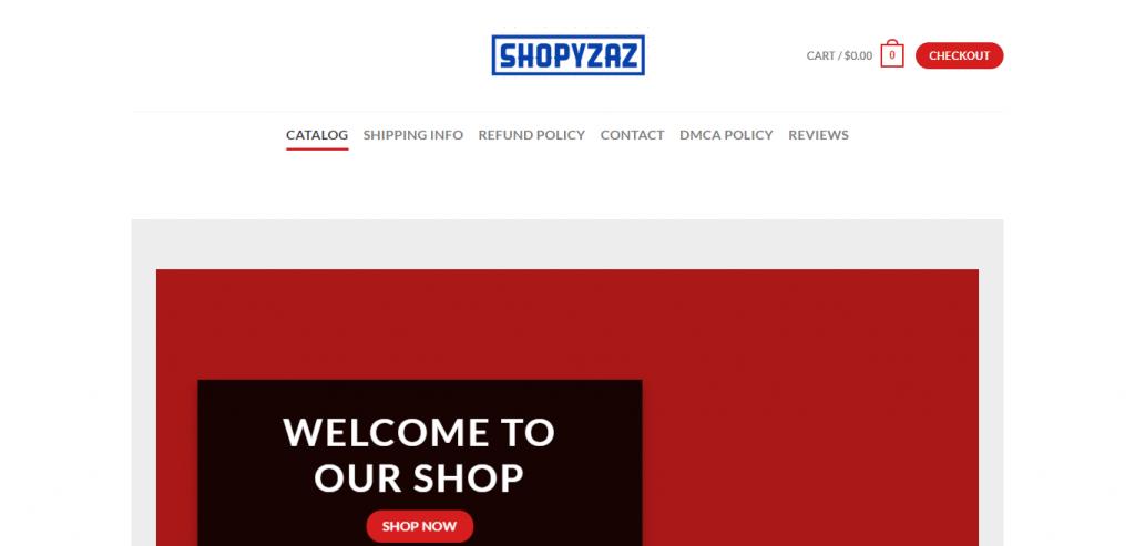 Shopyzaz Online Store image