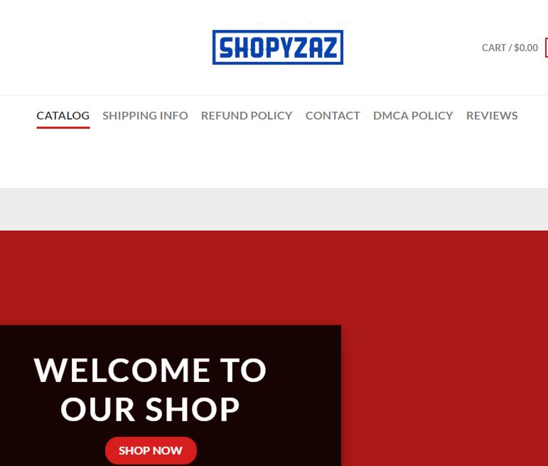 Shopyzaz Online Store