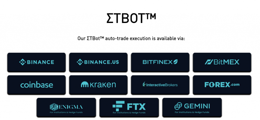 etbot.io accepted brokers and exchanges