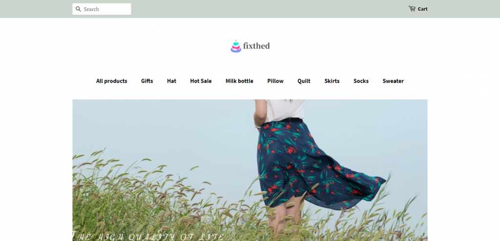 Fixthed Online Store image