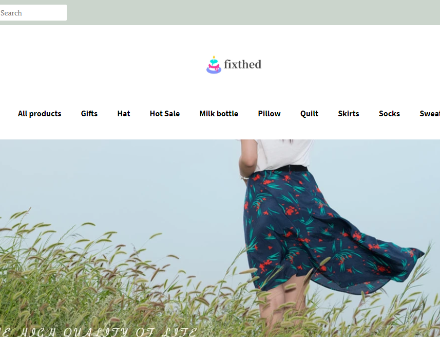 Fixthed Online Store
