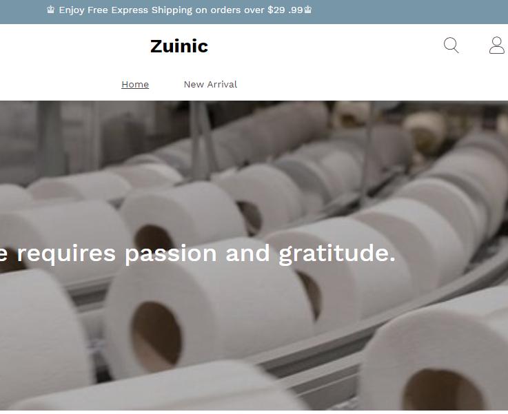 Zuinic Online Store