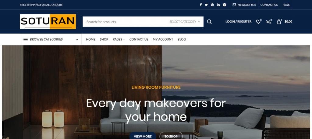 Soturan Homepage