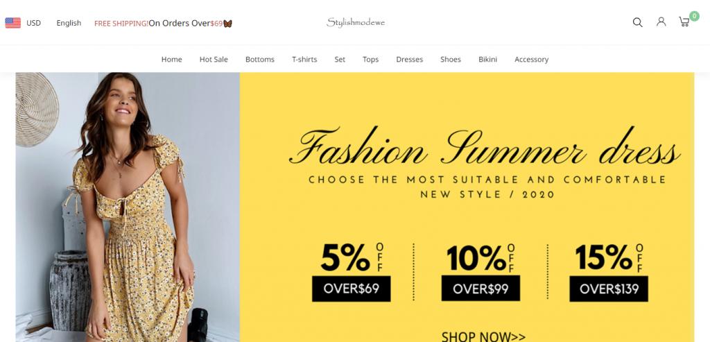 Stylishmodewe Homepage