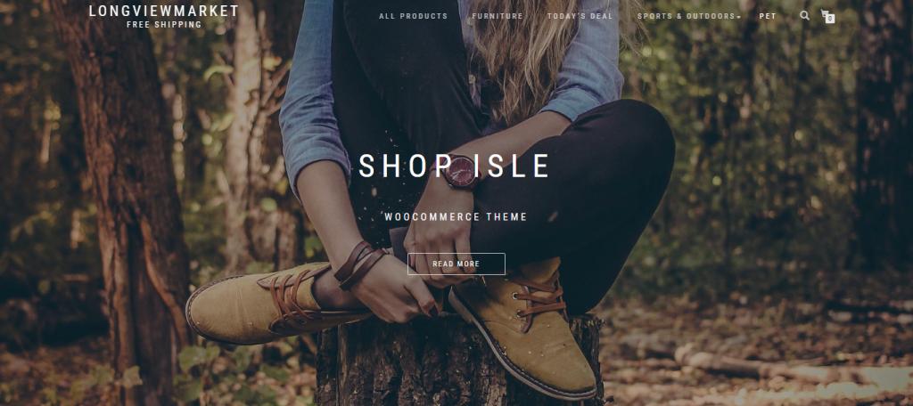 Whenstore Homepage