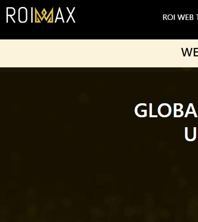 Roimax Landing Page