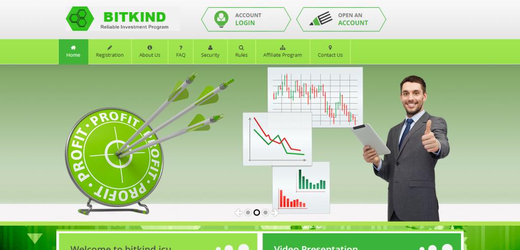 Bitkind Homepage