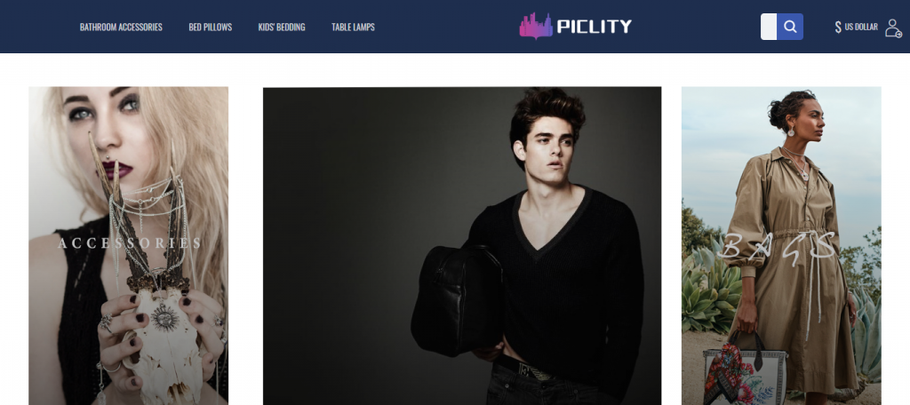 Piclity Homepage