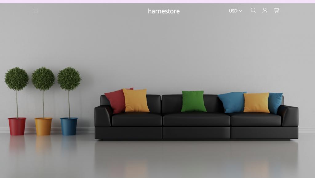 Harnestore.com Homepage