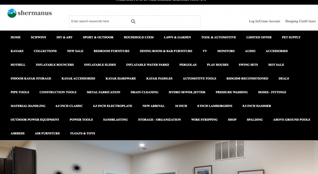 Shermanus.com Homepage