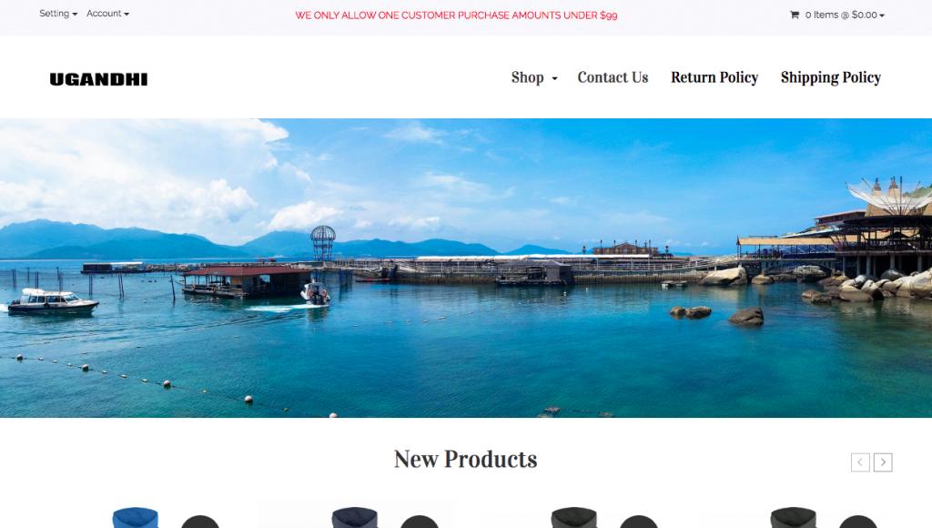 Ugandhi Homepage